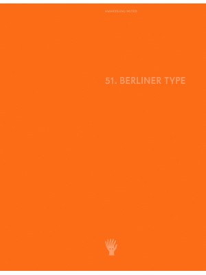 Berliner Type Award 2019