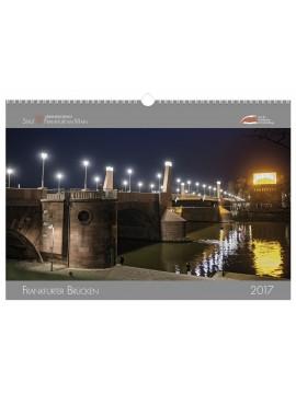 Wandkalender 2017 - Frankfurter Brücken