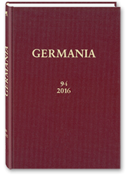 Henrich Editionen - Germania Band 94/2016