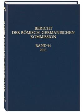 Bericht der RGK - Band 94/2013