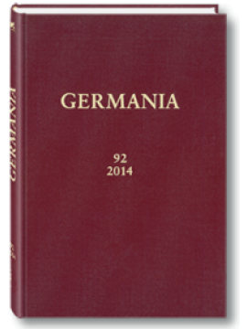 GERMANIA - Band 92/2014