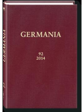 GERMANIA - Band 92/2014