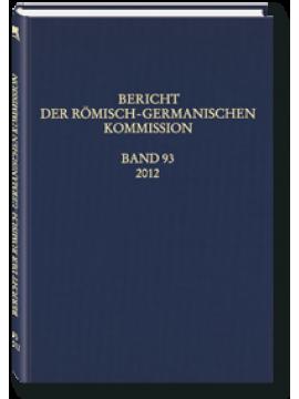 Bericht der RGK - Band 93/2012
