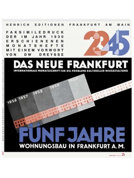 Ernst May: DAS NEUE FRANKFURT
