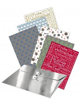 Geschenkpapier – Weihnachtlich hessisch verpackt
